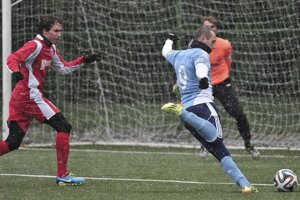 Futbalisti Šale prehrali v sobotu v Bratislave so Slovanom iba 0:1.
