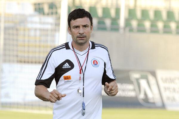 Samuel Slovák ako tréner získal so Slovanom titul i pohár.