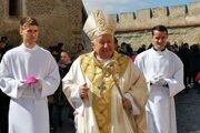 Spišský diecézny biskup Štefan Sečka.