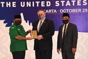 Americký minister zahraničných vecí Mike Pompeo počas návštevy Indonézie.