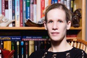 Spisovateľka Marta Fartelová.