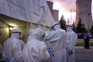 Testovanie v elektrárni Mochovce, 30. októbra.
