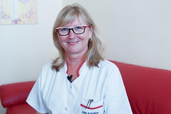 MUDr. Miriam Dziaková, PhD., hlavná odborníčka ministerstva zdravotníctva.