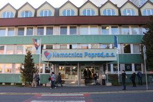 Nemocnica v Poprade.