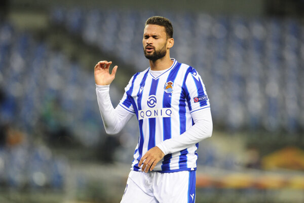 Willian Jose z Realu Sociedad.