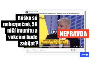 Medzi slovenskými používateľmi Facebooku sa šírilo video, v ktorom americký lekár Rashid Buttar tvrdil, že nosenie rúšok je nebezpečné, sieť 5G oslabuje imunitu a vakcína proti ochoreniu COVID-19 môže zabíjať. Tieto jeho tvrdenia sa nezakladajú na pravde. TASR na dezinformácie upozorňuje v spolupráci s tlačovou agentúrou AFP.