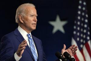 Kandidát na prezidenta USA Joe Biden.