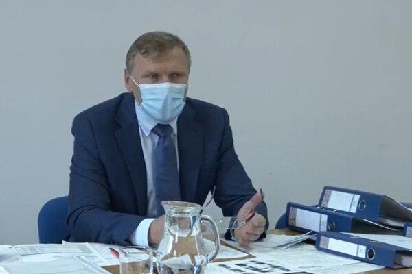 Stanislav Hreha na štvrtkovom stretnutí s novinármi.