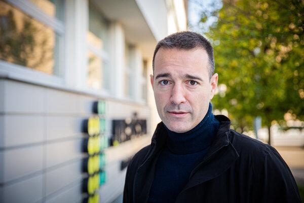 Tomáš Drucker, predseda strany Dobrá voľba