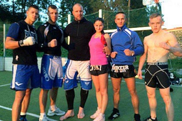 Úspešní borci z nitrianskeho Scorpio Fight Clubu.