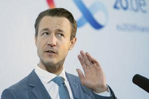 Rakúsky minister financií Gernot Blümel.