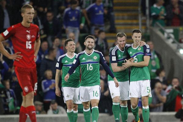 Futbalisti Severného Írska sa spoliehajú na tímovosť.