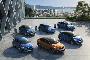 Portfólio Renault E-Tech od roku 2020 tvoria tri plug-in hybridy a tri full-hybridy.