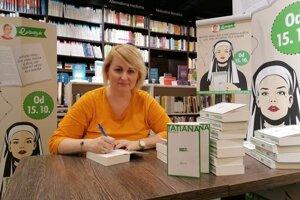 Obľúbená spisovateľka Tatiana Brezinská Čuperková žije vo Vrzávke.