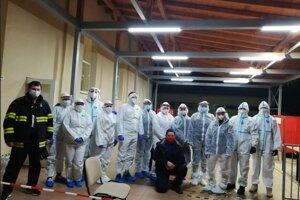 V Kamenici nad Cirochou testovali dva tímy.