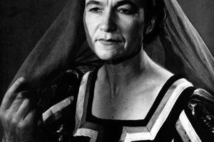 Nezabudnuteľné úlohy stvárnila v divadle J.G. Tajovského vo Zvolene