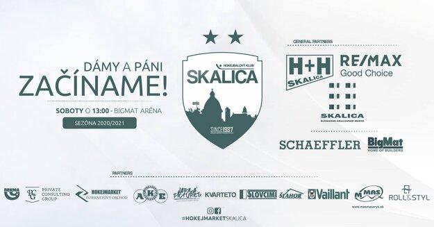 Generálni partneri a partneri skalického hokejbalu
