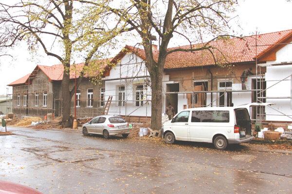 Výstavba centra zdravotníckej starostlivosti v Šahách.