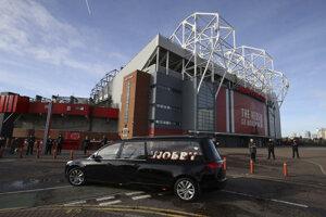 Old Trafford - štadión anglického klubu Manchester United.
