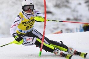 Češka Martina Dubovská v 2. kole prvého slalomu novej sezóny Svetového pohára v alpskom lyžovaní žien vo fínskom Levi.