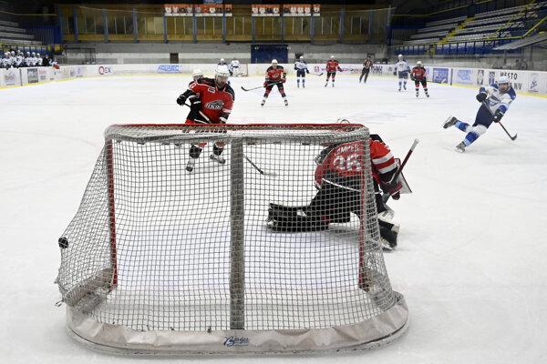 Slovenská hokejová liga - ilustračný záber.