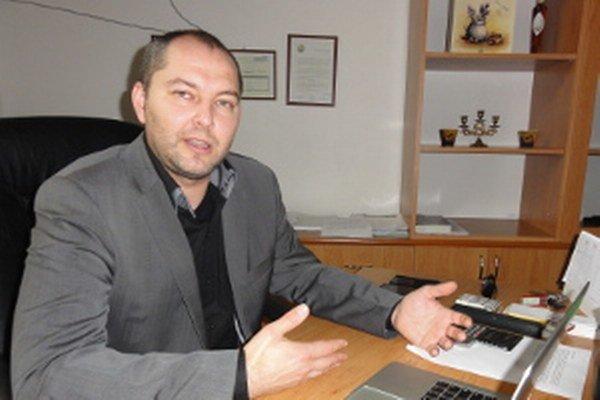Bývalý šéf nemocnice Michal Grujbár.