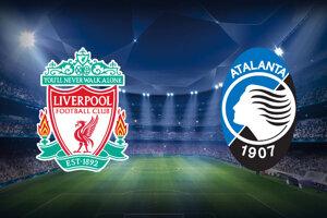 Futbal Liverpool FC - Atalanta Bergamo, Liga majstrov dnes, LIVE stream.