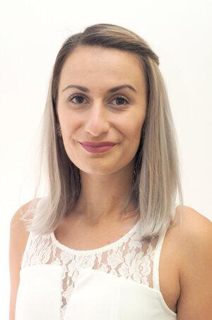 Bc. Júlia Zacharidesová, právna asistentka