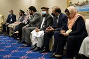 Afganskí vyjednávači.