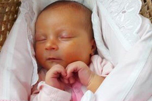 Adela Tomanicová, (3770g,  51cm), sa narodila 27. septembra Kristíne a Romanovi z Púchova