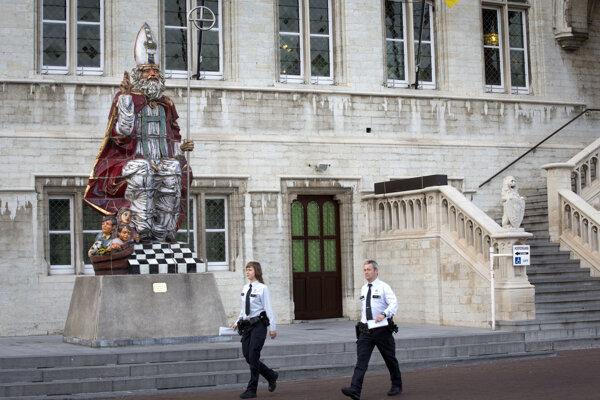 Ilustračná fotografia belgickej polície.