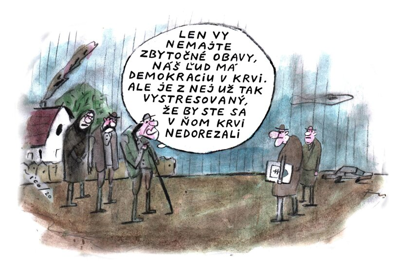 Demokracia v krvi (Vico) 30. novembra