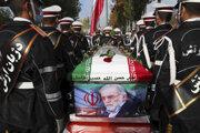 Pohreb iránskeho vedca