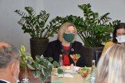Martin navštívila veľvyslankyňa Írskej republiky na Slovensku Hilda Ó Riain.