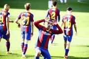 Antoine Griezmann z FC Barcelona.