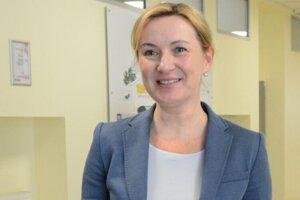 Riaditeľka košickej DFN Ingrid Urbančíková.