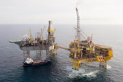 Vrtná plošina Elgin - PUQ v Severnom mori.