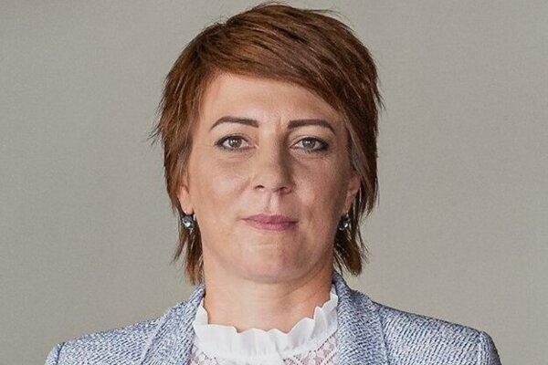 Primátorka Sniny Daniela Galandová.