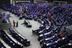 Nemecký parlament v Berlíne.