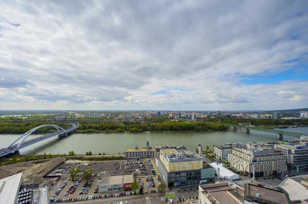 Pohľad na Dunaj v roku 2017.