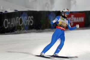 Nórsky skokan na lyžiach Halvor Egner Granerud.