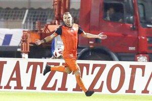 Erik Jendrišek žiaril po príchode do Xanthi. Vo Volos FC sa mu už nedarilo podľa predstáv.