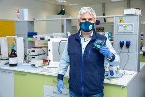 Pavol Čekan, biochemik a zakladateľ firmy MultiplexDX