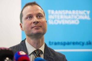 Riaditeľ Transparency International Slovensko (TIS) Gabriel Šípoš.