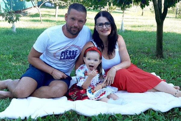 Erik Vankovic so svojou rodinkou.