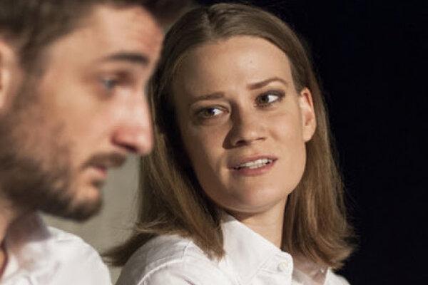 Ivana Kubáčková s Michalom Režným.