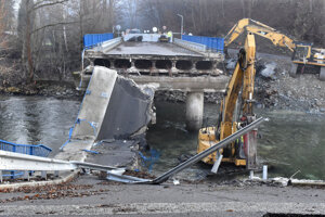 Zákazku na opravu mosta za 1,7 milióna eur získal Váhostav.