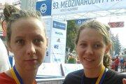 Danka a Janka sa zúčastnili aj Medzinárodného maratónu mieru.
