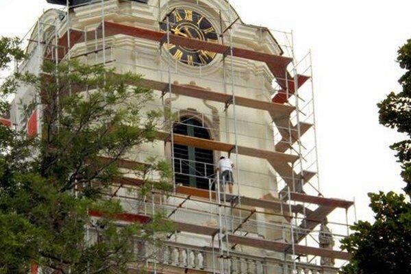 Na ochodzu veže hradnej katedrály sa po dokončení prác dostane aj verejnosť.