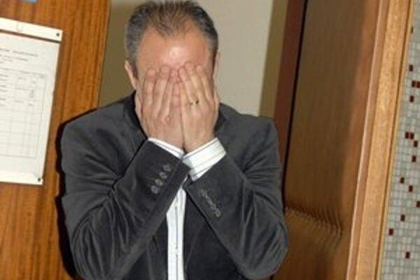 Ivo Prokopič po jednom z pojednávaní v inej veci na košickom súde.